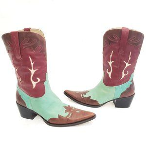 👢 Matisse Gorgeous Leather Western boots Sz 8M 👢